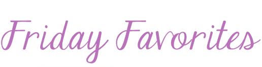 Friday Favorites logo