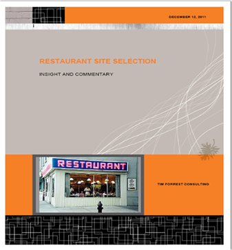 IMAGE Restaurant Site Selection Cover
