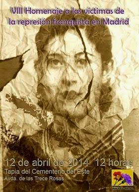 Homenaje a la represión franquista