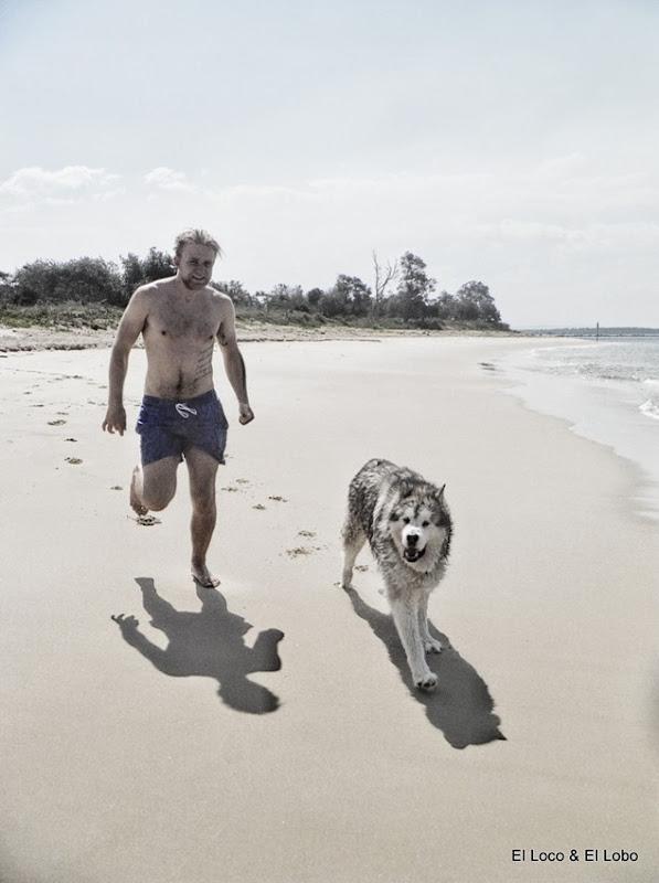 Gustav & Munson on Whiting Beach