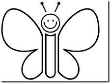 colorear mariposas pintaryjugar com (6)