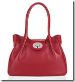 Lulu Guinness Red Leather Romilly