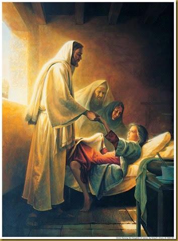 JESUS RESUCITA HIJA DE FUNCIONARIO