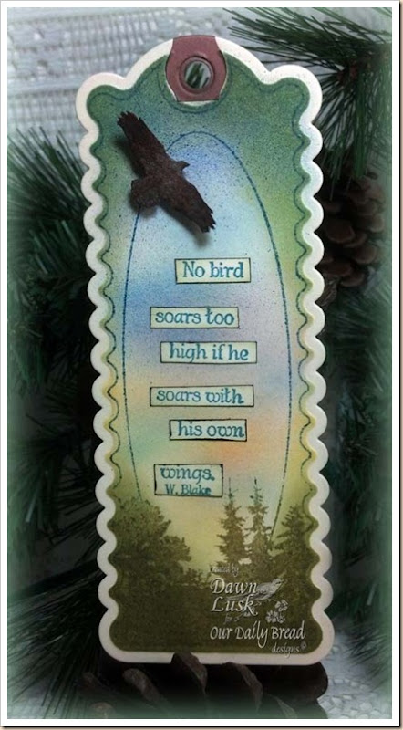 Bookmarks-Eagle/Trees/Verses, Bookmark Die, Our Daily Bread designs