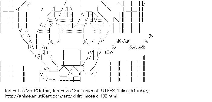 Kiniro Mosaic,Cartalet Alice,Faff