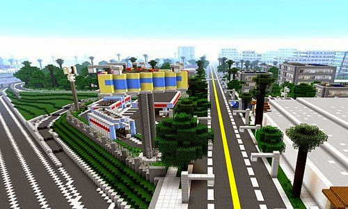 Greenfield-Map-Minecraft-Mappa