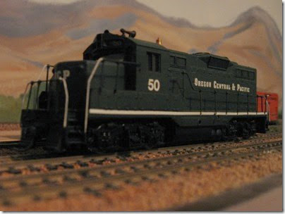 IMG_9398 OCP GP9 #50 on my Dad's Layout on November 22, 2007