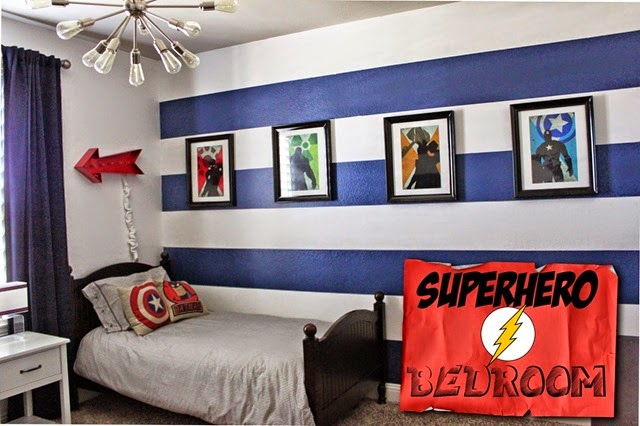superhero room cover photo