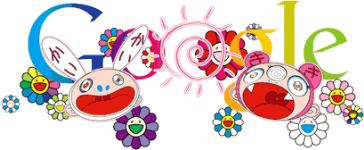 First Day Of Summer-Google Logo by Takashi Murakami