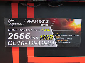 DDR3 2666 MHz 16 GB (4x4 GB)<BR>