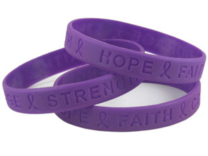 Domestic violence wristbands normal