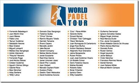 Los mejores jugadores del mundo firman con el World Padel Tour según la AJPP.