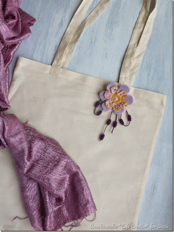 cafe creativo - sizzix big shot plus starter kit - shopping bag - felt fabric - feltro stoffa (3)