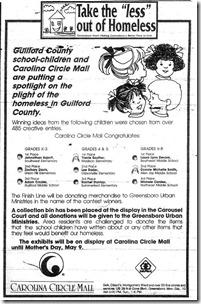 Homeless Ad May 1, 1993