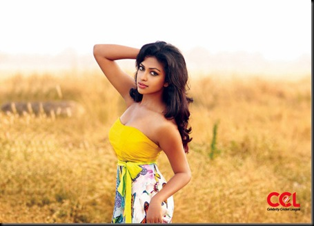 amala paul celebrity cricket league calendar photos 2012