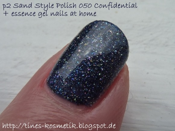 p2 Sand Style Polish Confidential mit Gel 4