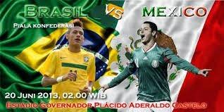 Jadwal Brasil vs Meksiko