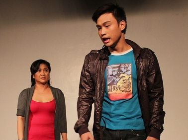 Eugene Domingo and Edgar Allan Guzman in Bona
