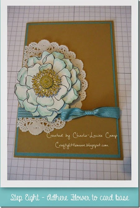 blended blooms tut  and your finished