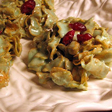 Sharon's Holiday Holly Leaf Treats
