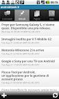 Wordpress per android - Lista articoli