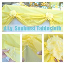 Sunburst Tablecloth