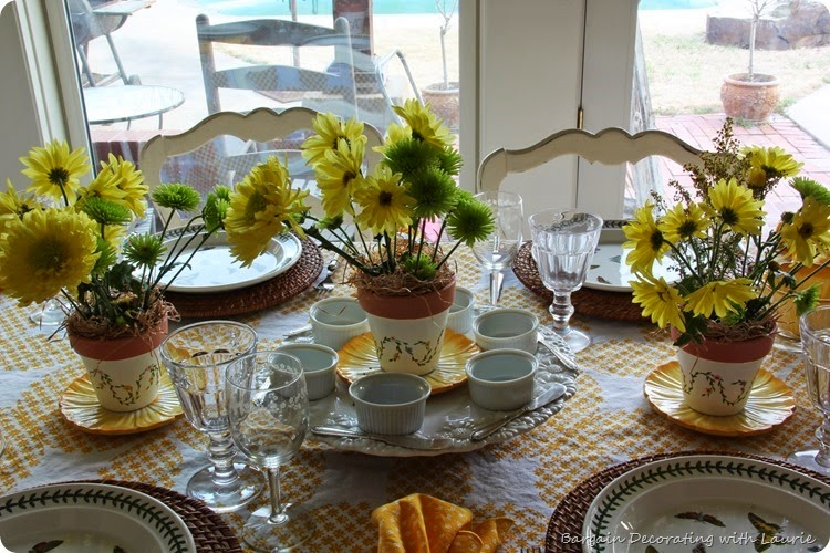 Sunshine Tablescape 5