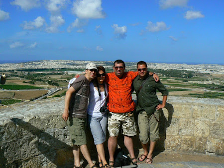Malta pictures: riding the walls of Mdina