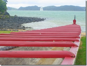 iwi Ngāpuhi's ceremonial war canoe Ngātokimatawhaorua