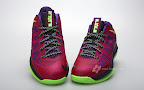 nike lebron 10 low gr purple neon green 3 05 Release Reminder: NIKE LEBRON X LOW Raspberry (579765 601)