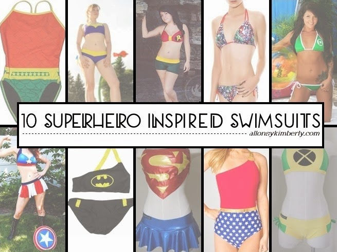 10 Superhero Inspired Swimsuits | allonsykimberly.com