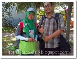 Bersama Siswa Kreatif, Peserta  Festival Lomba Seni Siswa Nasional, FLS2N dari Riau (1)