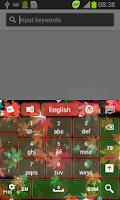 Screenshot of Vibrant Foliage Keyboard