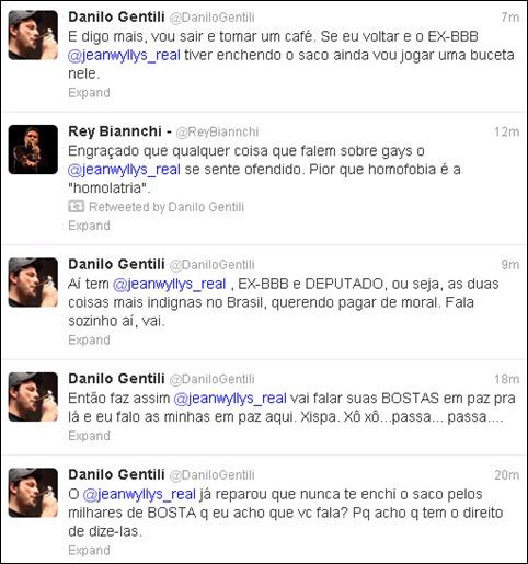 Danilo Gentili twitter