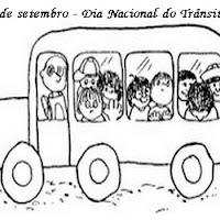 dia do transito atividades desenhos colorir350.jpg