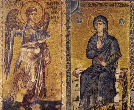 Ιερά πανήγυρις με σκορδαλιά και νηστίσιμα στον Ι.Ν. Ευαγγελίστριας Λουρδάτων
