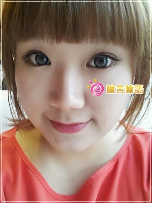 韓國GEO隱形眼鏡-Bella貝拉灰9