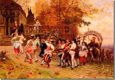 Charles Delort, La fête des vendanges