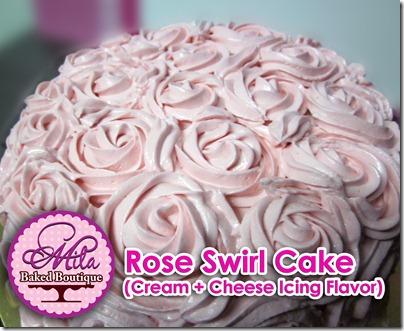 Fresh Roses Rose Swirl Fresh Cream
