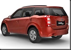 xuv500 backview