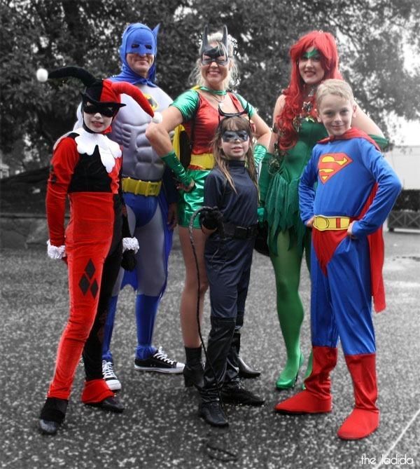 Supanova Sydney 2013 Cosplay -  DC Superheroes - Batman, Catwoman, Superman, Harley Quinn, Poison Ivy