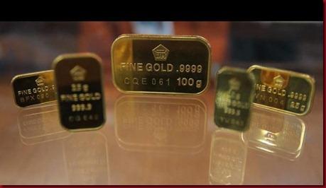 Harga Emas Dunia Akan Terus Turun