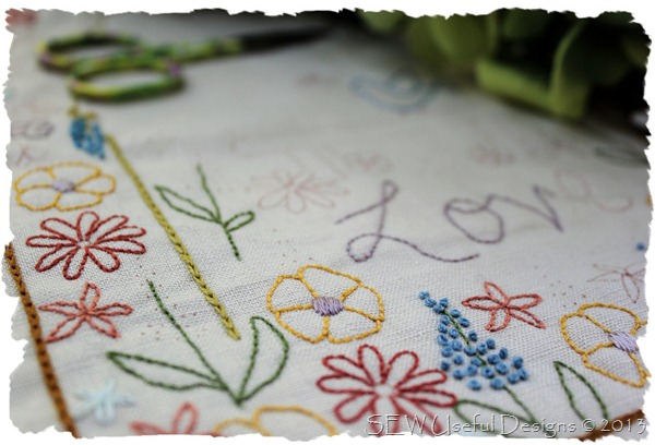 Garden stitchery 2