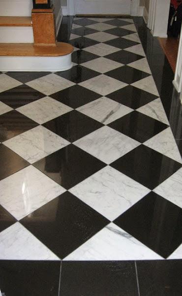 Image10 Black And White Tile