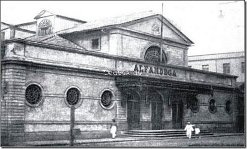 Velho prédio da Alfândega Década de 1930 - O edifício, onde hoje funciona a Casa França-Brasil, já foi palco de alguns eventos importantes de nossa história