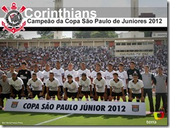 Copa SP Juniores FINAL - Corinthians X Fluminense - Pacaembœ