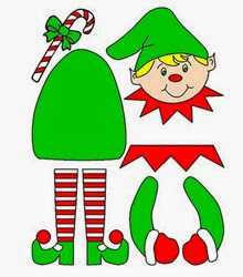 dibujos-de-navidad-para-recortar-y-armar-molde-navidad-duende