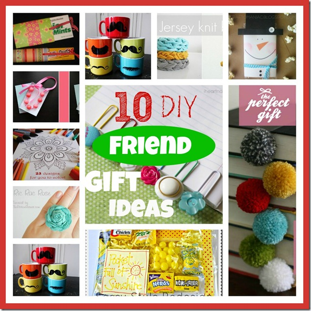 10 DIY little friend gift ideas