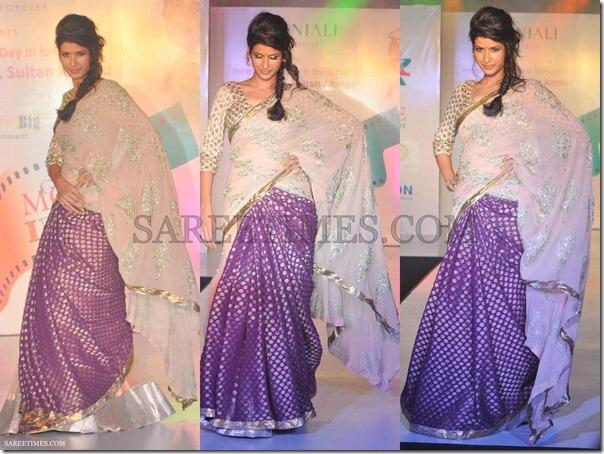 Manali_Jagtap_Pink_Blue_Saree