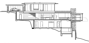Corte-Casa-Delany-arquitecto-Jorge-Hrdina